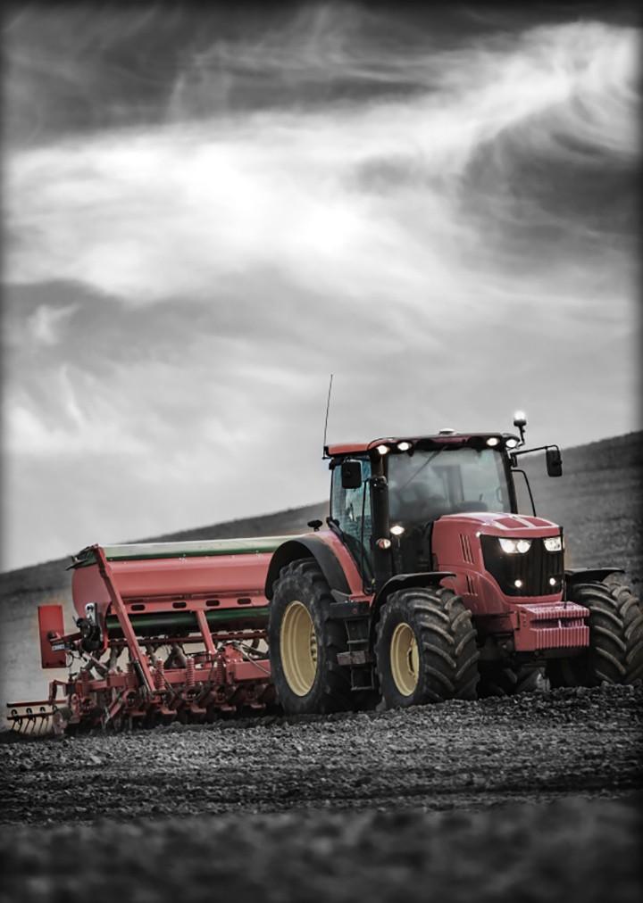 Контроль сельскохозяйственной техники и прицепного оборудования