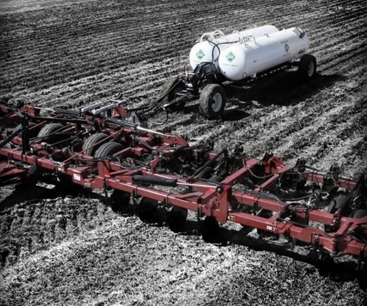 Распыление жидких азотных удобрений