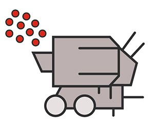 crushing plant icon